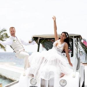 Oliver Pocher und Amira Aly zeigen erstes Foto als Brautpaar!
