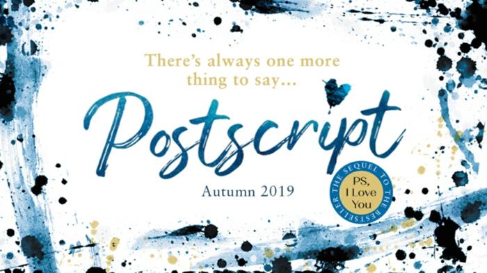 ein Buch, das viele inspiriert hat, bekommt einen Nachfolgeroman, Postscript