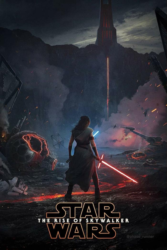 Star Wars: Der Aufstieg Skywalkers, ein letzter Kampf von dem Schicksal der Galaxie
