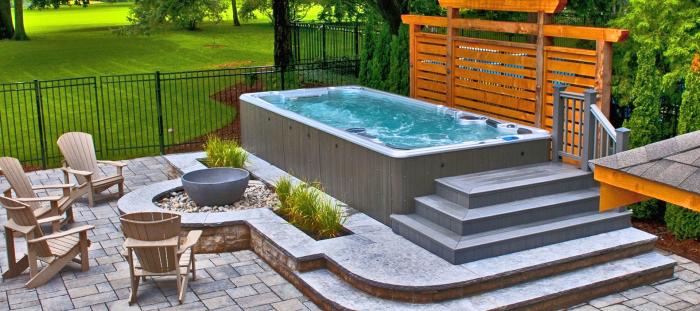 swim spa pool kauftipps, tipps zum kaufen, den besten schwimmbad finden, gartengestaltungsideen
