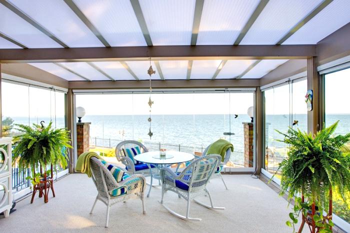 terrassenüberdachung aus alu, terrasse die besten überdachungslösungen, terrasse überdachen