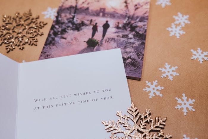 Weihnachtsgrüße schicken, einzigartige Weihnachtskarten selbst gestalten