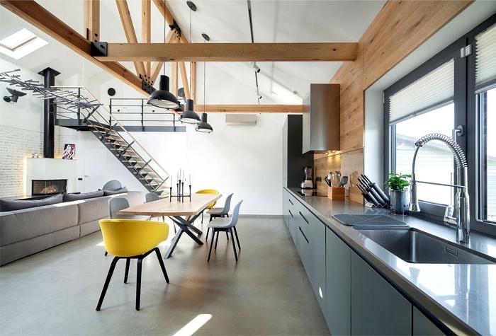 wohnzimmer gestalten tipps, wohn und esszimmer in einem raum, moderne enrcihtung, desginer möbel