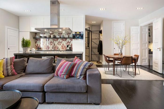 wohnzimmer ideen für kleine räume, wohnzimmereirnichtung ideen, wohnung einrichten