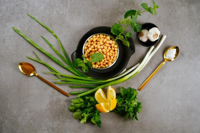was koche ich heute, rezept für grüne falafels aus kichererbsen und kräutern, nötige zutaten
