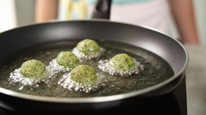 was koche ich heute, mittagessen ideen, grüne falafels, schnelle rezepte