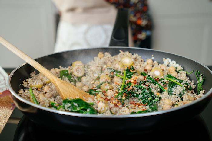 aabendessen ideen warm, leckere rezepte, was koche ich heute abend, rezetpte mit quinoa