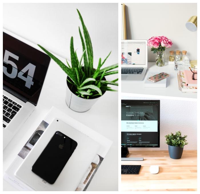 arbeitszimmer und gästezimmer in einem kombinieren, arbeitszimmerdeko ideen, home office dekorieren