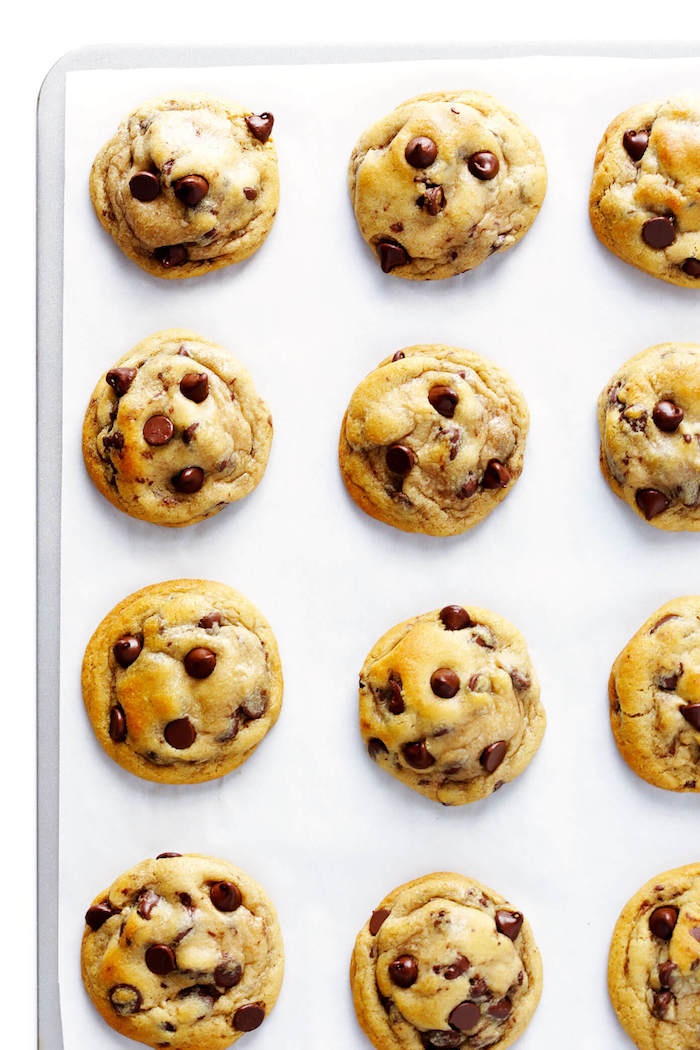 cookies ohne butter, einfache zubereitung, weiche kekse mit schokostückchen und vanille