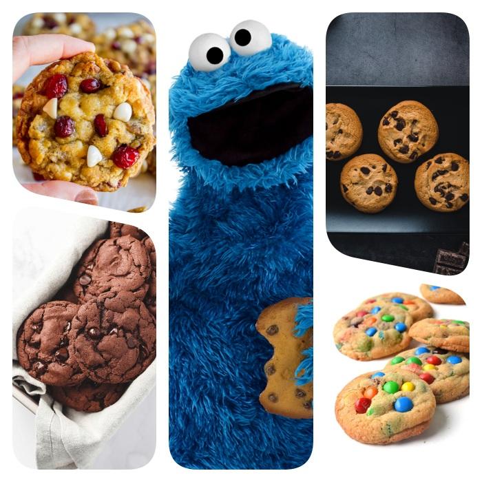 cookies rezept, die besten ideen, party essen, kekse mit schokostückchen, schokoaldenkekse mit schokoladenchips