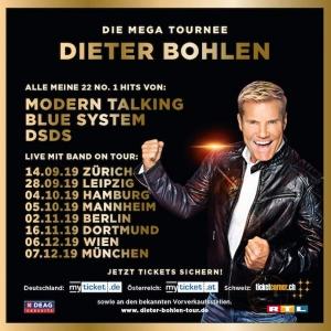 Dieter Bohlen hat die meisten Konzerte seiner MEGA-Tournee für 2020 abgesagt
