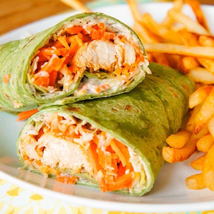 gesundes essen rezepte, enchiladas mit hühnerfleisch und gemüse, abenessen ideen