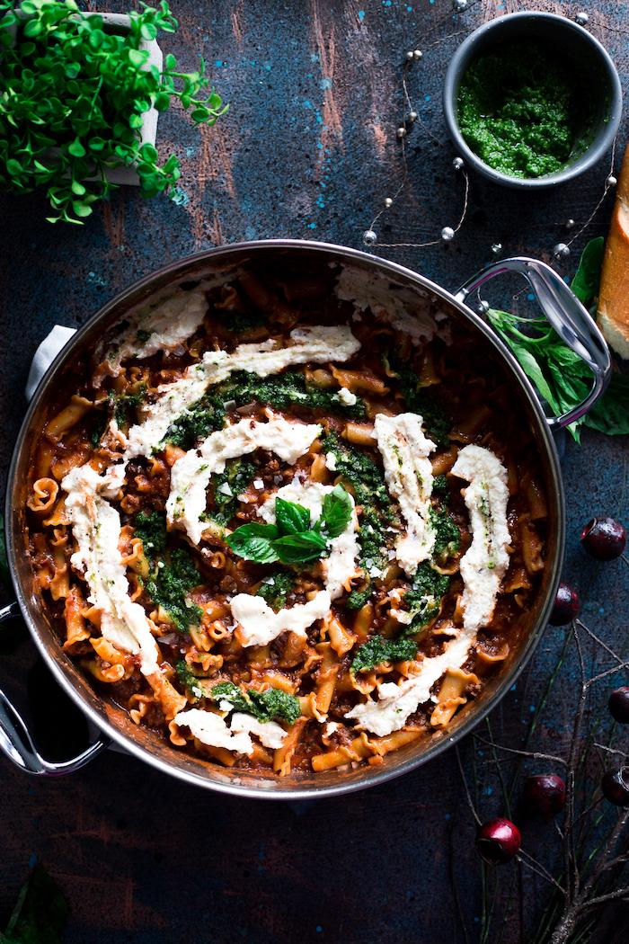 was koche ich heute schnell, gesundes essen rezepte unter 30 minuten, gericht mit pasta