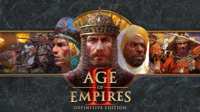 das spiel age of empires, definitive edition, the last khans, viele reiter mit pferden, ein . samurai mit schwert