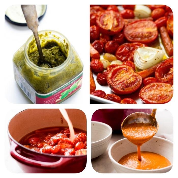 pürierte gemüsesuppe mit tomaten, tomatensuppe selber machen, vegetarische rezepte