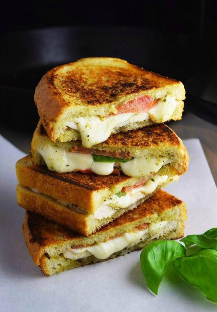 schnelle rezepte abendessen, was koche ich heute abend, sandwiches mit schinken und käse