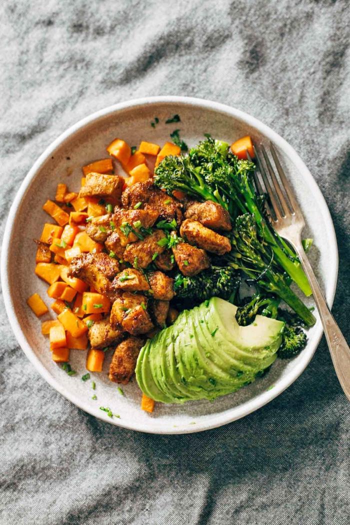 was esse ich heute abend, abendessen ideen, hühnerfleisch mit gemüse, gesundes abendessen