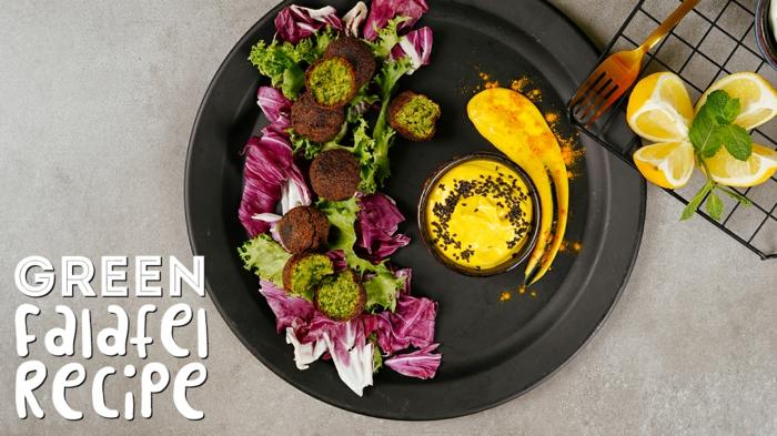 was esse ich heute, schnelle rezepte für jeden tag, grüne falafels