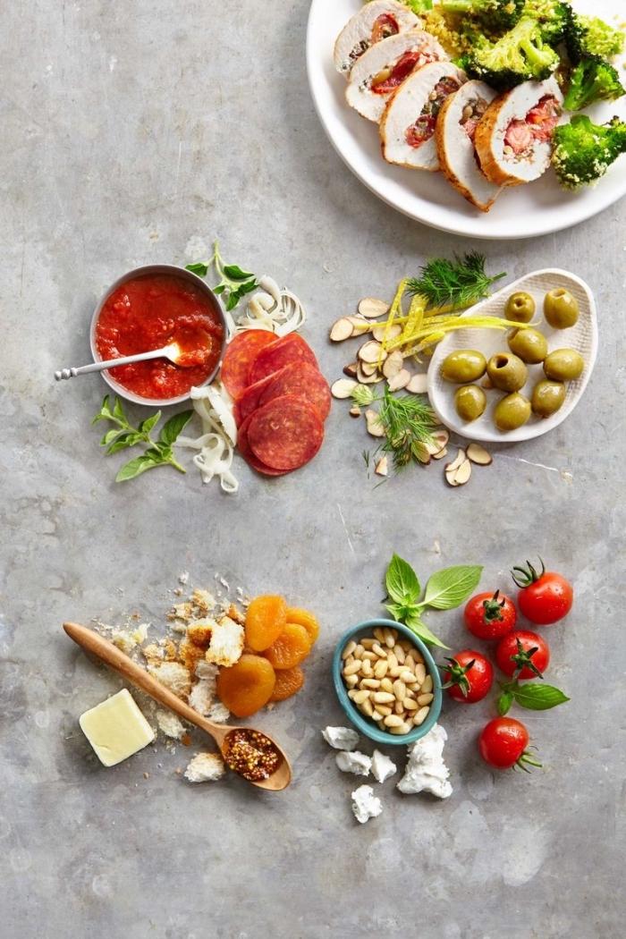 was esse ich heute, einfache und schnelle rezepte, mittagessen ideen, hühnerfleisch mit gemüse