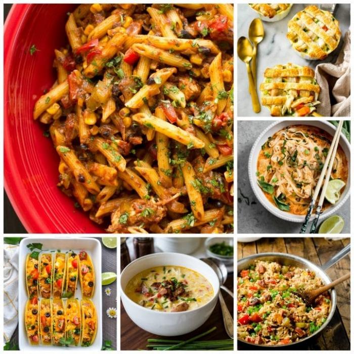 schnelle abednessen ideen, was koche ich heute abend, einfache rezepte für jeden tag