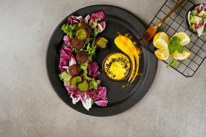 vegetarische gerichte, was koche ich heute, falafels selber machen
