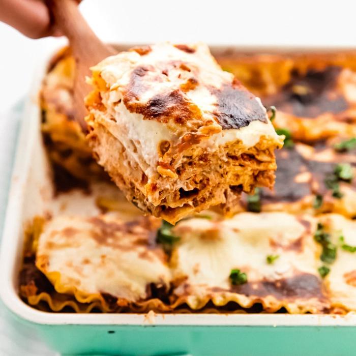 vegan lasagna, einfache zubeeitung, was koche ich heute schnell, abendessen ideen, italienische rezepte