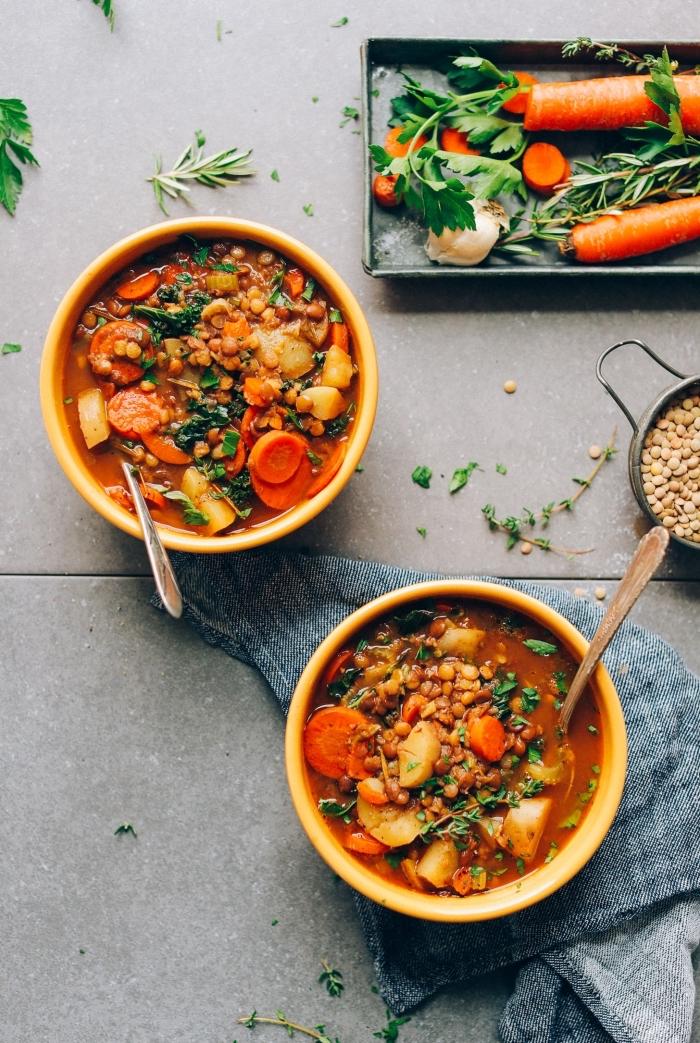 was soll ich heute kochen, suppe mit gemüse, vegetarische rezepte für jedne tag, agesundes bendessen