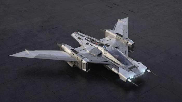 neues tri wing s 91x pegasus starfighter, star wars und porsche, ein raumschiff von dem deutschen autohersteller und lucasfilm