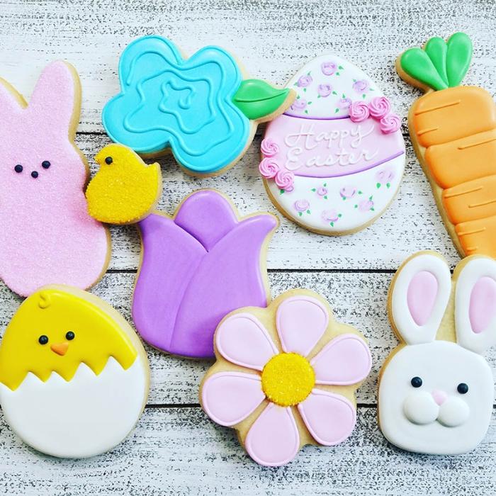 essen für kindergeburtstag, leckere kekse, kleine figuren, plätzchen selber machen