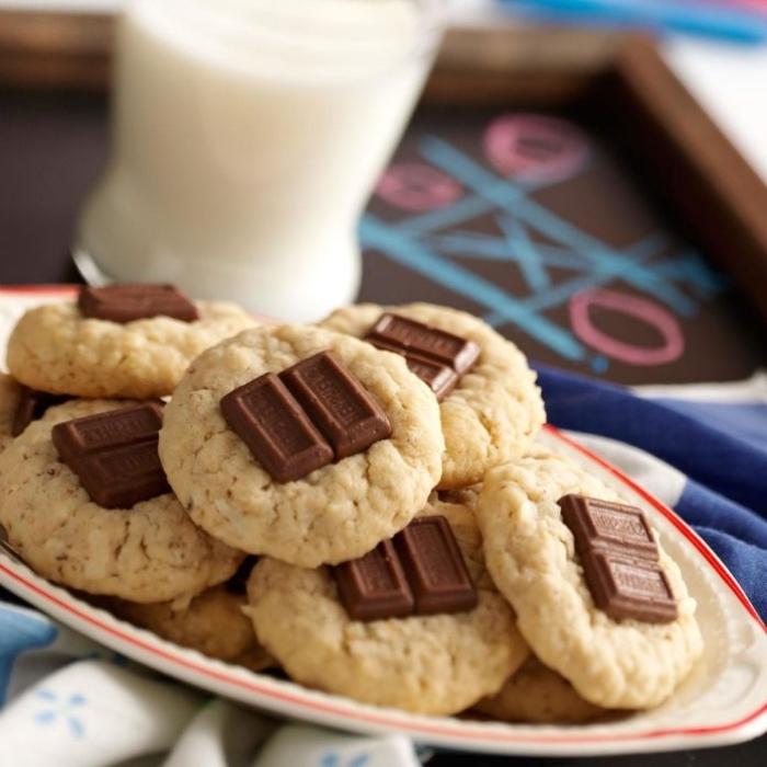 kochen für kleinkinder, rezepte für kinderparty, gesunde kekse mit schokolade