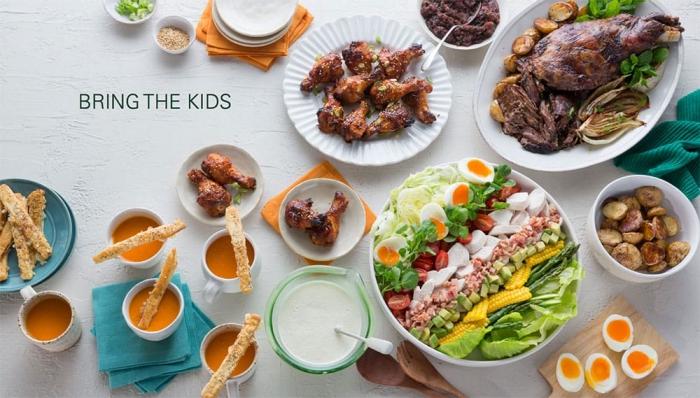 schnelle gerichte für kinder, kindergeburtstag essen ideen, gesunder salat mit eiern