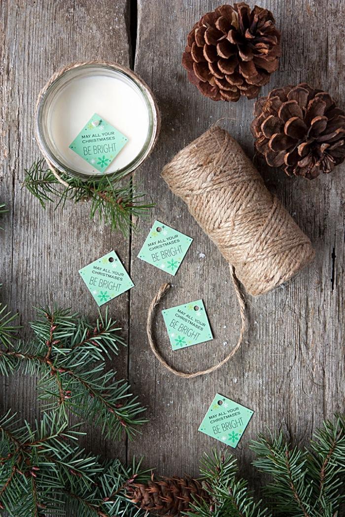 weihnachtsdeko selber machen, kerzen gißeen, tisch weihanchtlich dekorieren, weihanchtskerze