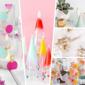Weihnachtsdeko basteln für den Tisch: Ideen und Anleitungen