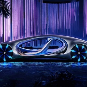 Mercedes Vision AVTR - das neue Auto, das von dem Film Avatar inspiriert wurde