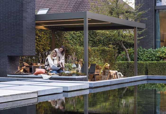 Lamellendach individuell gestalten, maßgeschneiderte Installationen für draußen
