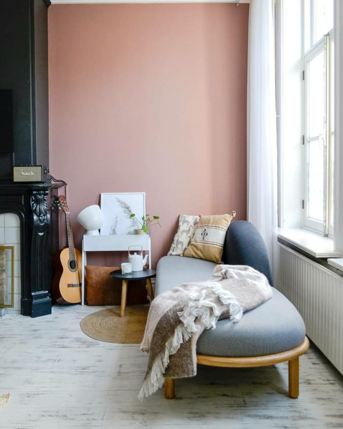 1001+ Ideen Für Bilder Für Wandfarbe Altrosa, Die Modern
