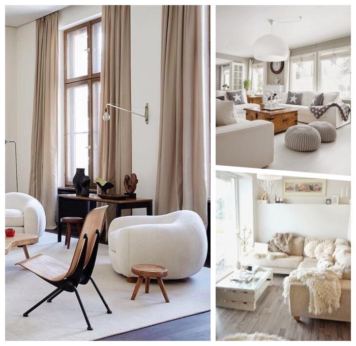 pantone farbe 2019, wohnung einrichten, runder sessel, einrichtung in skandinavischem stil