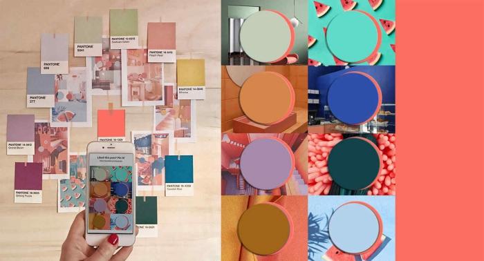 trendfarben 2020, wände strichen, aktuelle farben, desginer ideen, trendoge wandfarben