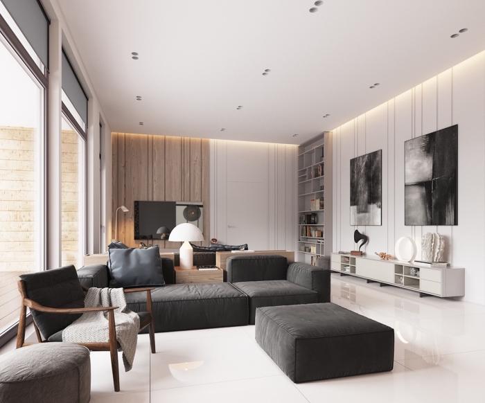 wohnzimmer farben 2019, wohnung einrichten, weiße wände, kleiner raum einrichten