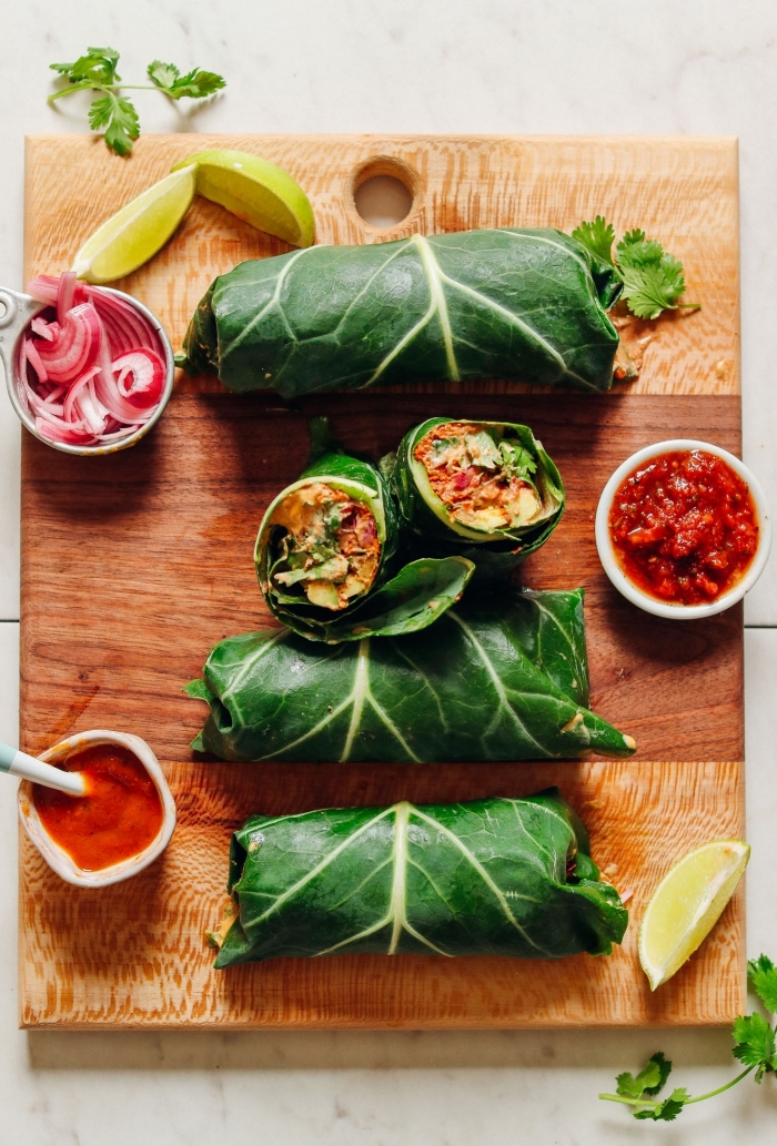 wraps selber machen, low carb rezepte, partyessen ideen, chili soße, gesundes mittagessen