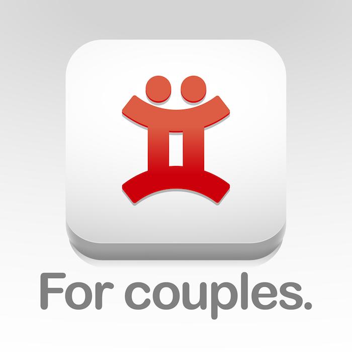 das logo der smartphone anwendung Twyxt, die besten apps für paare
