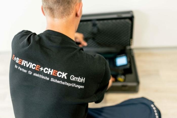 Prüfung elektrischer Anlagen und Betriebsmittel durch E+Service+Check GmbH, DGUV Vorschrift 3