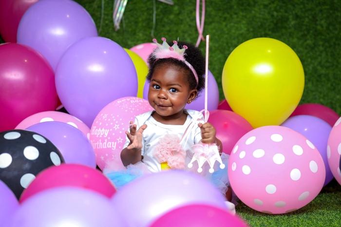 partydeko vereinsbedarf deitert, kinderpartydeko ideen, mädchengeburtstag organisieren, kleines mädchen, bunte luftballons