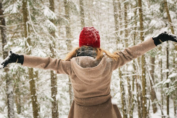 Lebensfreude zurückgewinnen, Spaziergang im Wald