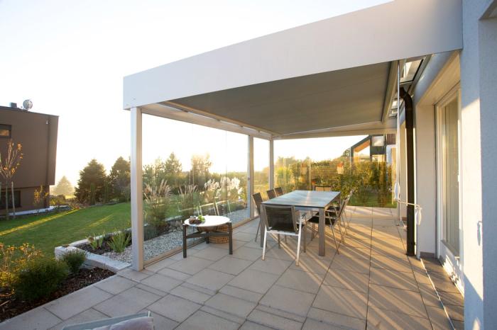 sonnenschutz auswählen, die besten tipps, außengarten gestalten, außenmäbel ideen