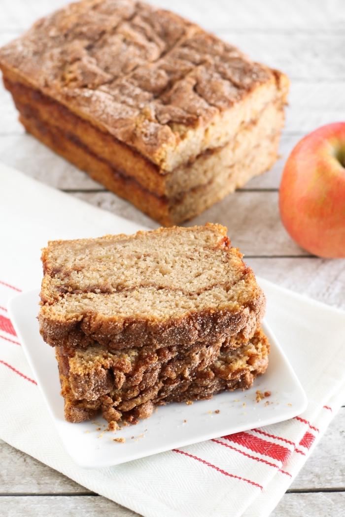 apfelkuchen ohne ei, kuchen mit äpfeln und zimt, zimtkuchen rezepte, kuchenrezepte ohne butter und milch