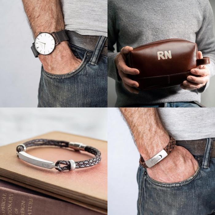 besondere schenkideen für männer, armband mt gravür, persönliches geschenk für mann, geburtstageschenke für freund