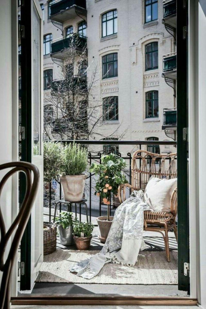 boho schick einrichtung balkon pflanzen ideen und inspo