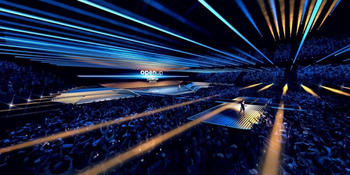 die bühne der wettbewerbs eurovision, eurovision song contest sollte wegen covid 19 abgesagt werden