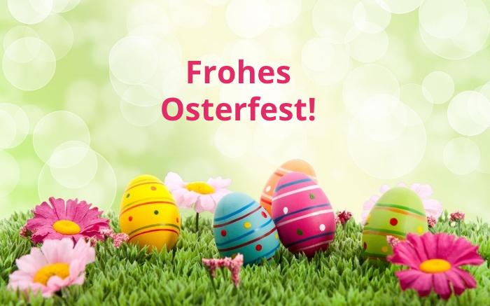 frohe ostern wünsche, osterwünsche ideen, frohes osterfest, eier im gas, osterkarten